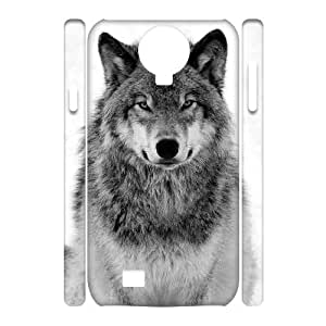 diy 3D Case Cover for SamSung Galaxy S4 I9500 - Wolf case 3