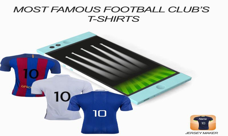 Amazon Com Jersey Football Shirt Maker Appstore For Android