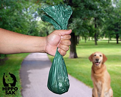 Hippo Sak Extra Large Pet Poop Bags for Large Dogs and Cat Litter, 240 Count by Hippo Sak (Image #4)