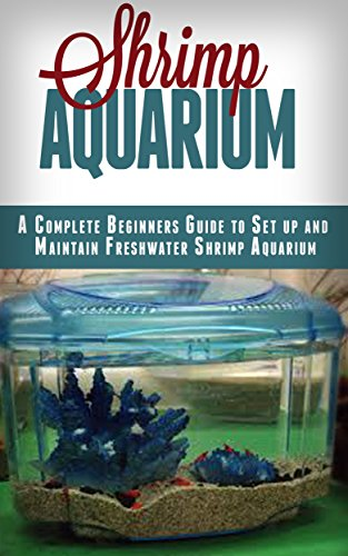 shrimp aquarium a complete beginner s guide to setup and maintain