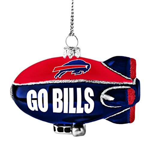 NFL Buffalo Bills Glitter Blimp Ornament