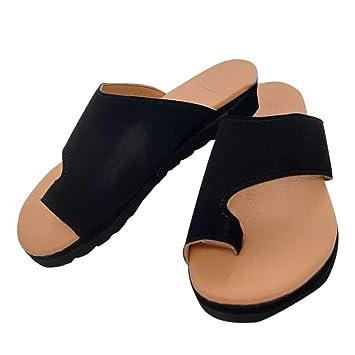 outlet store ec4bf 93608 Wapern Frauen Plattform Sandale Schuhe Mit Bunion Splints, Damen Sommer  Strand Reise Schuhe Big Toe Hallux Valgus Unterstützung Plattform Sandale  ...
