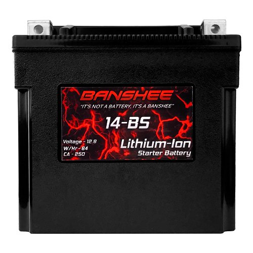 Lithium Ion Battery Replaces Yuasa YTX14-BS Lightweight Motorsport Motorcycle