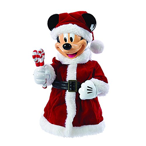 Kurt Adler 10-Inch Mickey Mouse Tree Topper or Tablepiece