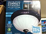 Lights of America Decorative Compact Fluorescent 15'' Ceiling Fixture