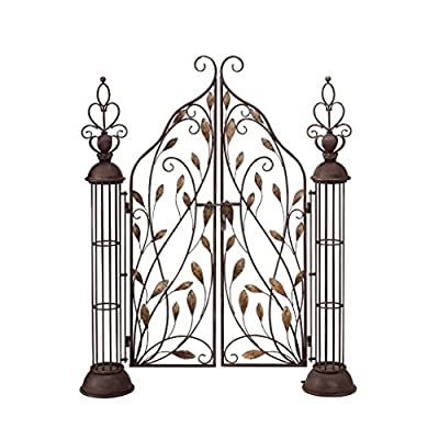 Design Toscano The Princess' Entryway Metal Garden Gate