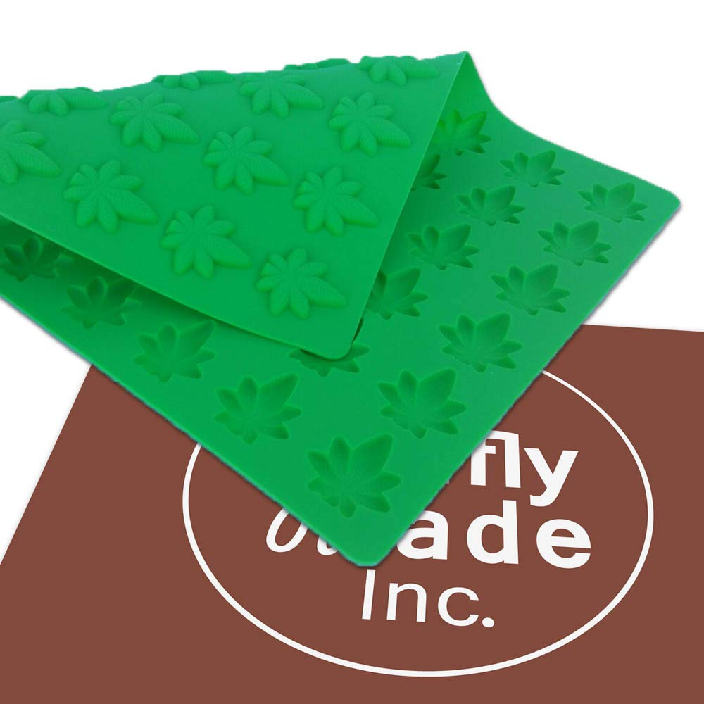 Marijuana Leaf Mold, Edible Gummies, Candy Mold, 54 cavities - Truffly Made by Truffly Made (Image #4)