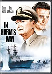 IN HARMS WAYARTIST : WAYNEJOHNRATING : NRTYPE : DVDGENRE : DramaMFG NAME : PARAMOUNT HOME VIDEO VENDOR : UNIVERSAL STUDIOS HOME ENTERT.