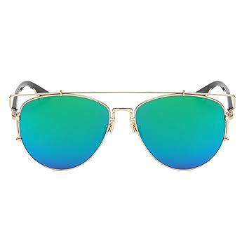 Gafas de sol gafas de deporte tipo espejo, gafas anti-UV y ...