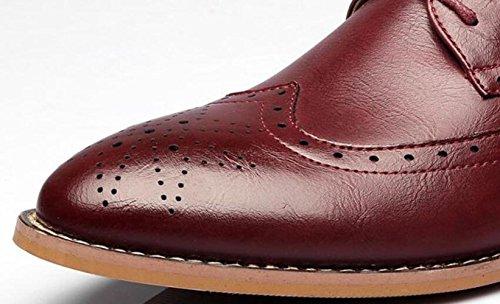 Altos Cuero Primavera De Hombre Zapatos Casual Red6cm Dhfud wF4qHYY