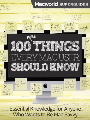 100 Things Every Mac User Should Know (Macworld Superguides Book 28)