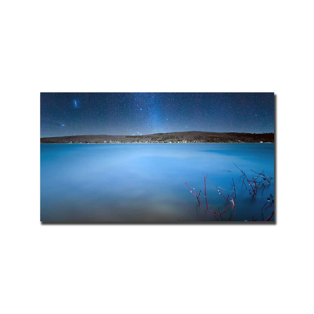 venta HPCAGLL HPCAGLL HPCAGLL Mosaico de Pintura Diamante 5D Haciendo Lago DIY, Galaxia, decoración de Bordado de montaña  grandes ahorros