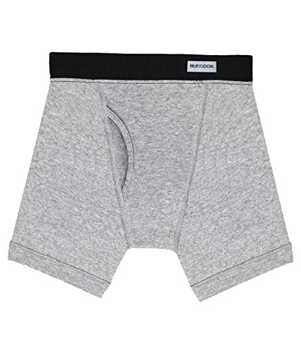 Fruit of the Loom Boys' 5pk Covered Waistband Boxer Brief