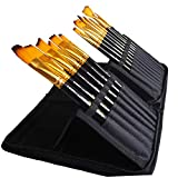 Art Paint Brushes Set by Art Dreaming, Great for Watercolor, Acrylic, Oil-15 Different Sizes Nice Gift for Artists, Adults & Kids