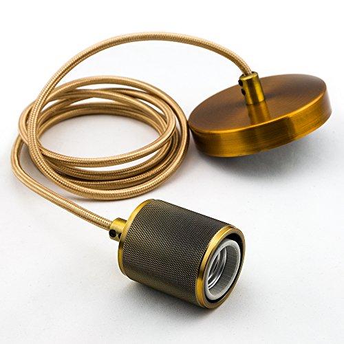 Brass 6 Light Pendant - 8