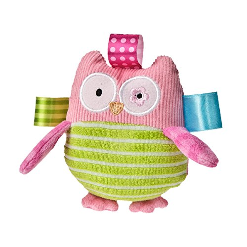 Mary Meyer Taggies Oodles Owl Plush Rattle