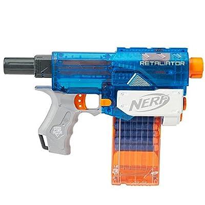 NERF NStrike Elite Retaliator Sonic Ice Series Blaster: Toys & Games