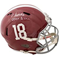 $389 » Devonta Smith 2020 Heisman Autographed Alabama Speed Replica Full-Size Football Helmet - BAS COA