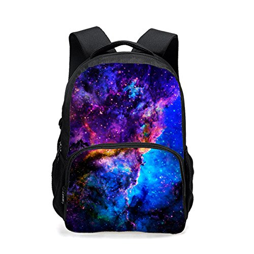 CARBEEN Universe Space TrendyMax Galaxy Pattern Backpack Cute for School