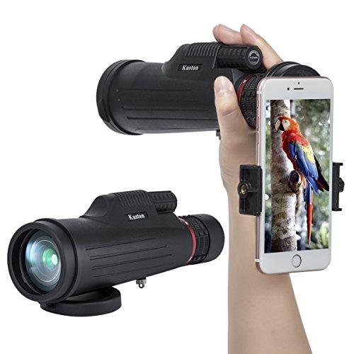 Kuston Monocular Telescope,24x50 High Power Monocular Scope Waterproof Monoculars for Smartphone for Bird Watching by Kuston