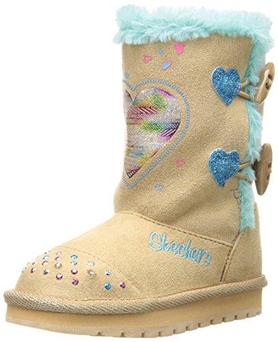 Skechers Kids 10402N Keepsakes Heart Warmer Light-Up Boot (Toddler)