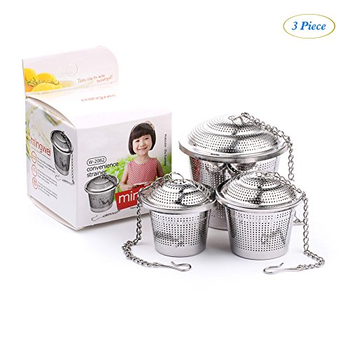 Big Save! Stainless Steel Tea Infuser Balls | Premium Tea Strainers for Steeping Loose Leaf Tea | Sa...