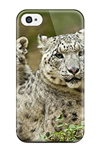 New Iphone 4/4s Case Cover Casing(snow Leopard)