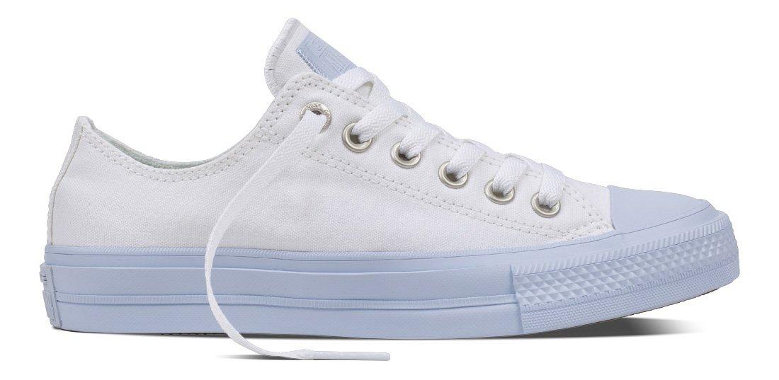 Converse All Star II, Zapatillas Unisex Adulto 38 EU|Blanco (White/Porpoise/Porpoise White/Porpoise/Porpoise)