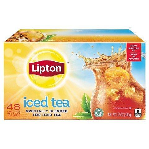 Lipton Family Size Iced Tea Bags 48 ct TRG