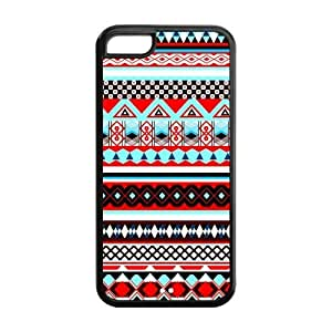 Custom Aztec Tribal Unique Iphone 5C Protective Rubber TPU cover