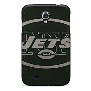 Shock-Absorbing Hard Cell-phone Case For Samsung Galaxy S4 (pVH5433TOyT) Support Personal Customs Lifelike New York Jets Pictures