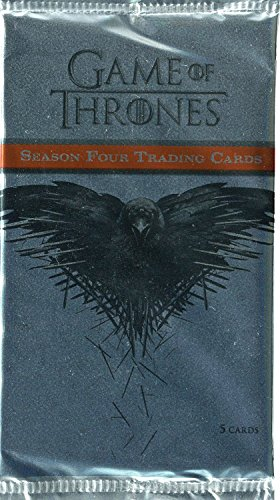 Packs Trading Card Game - Game of Thrones Season 4 Factory Sealed Trading Card Pack