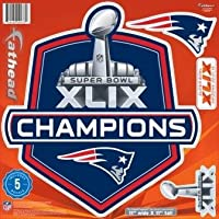 New England Patriots Super Bowl 49 11'x11'' Fathead
