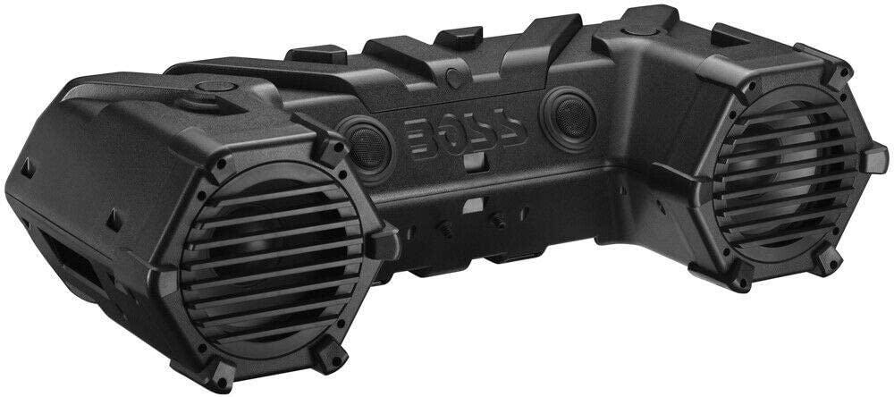 RPM Boss Compatible with Audio 8 700w Bluetooth Sound System Polaris for Sportsman 850 ATV All Yrs