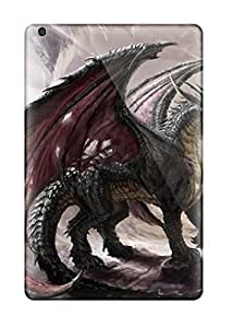 New Style Mary David Proctor Hard Case Cover For Ipad Mini/mini 2- Dragon And Wizard