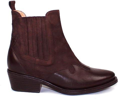 Canada - Botines Chelsea Moda Tendencia Cowboy para Mujer de Piel ...