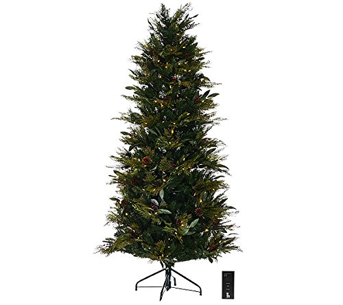 Outdoor Lighted Pine Trees in US - 9