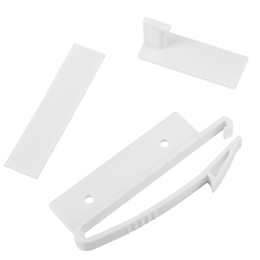 unsichtbares Baby Safty Verschluss Schubladen Sicherheitsschloss Kindersicherung f/ür gleitende Schrank F/ächer schieben 4PCS die Schubladen Verschl/üsse