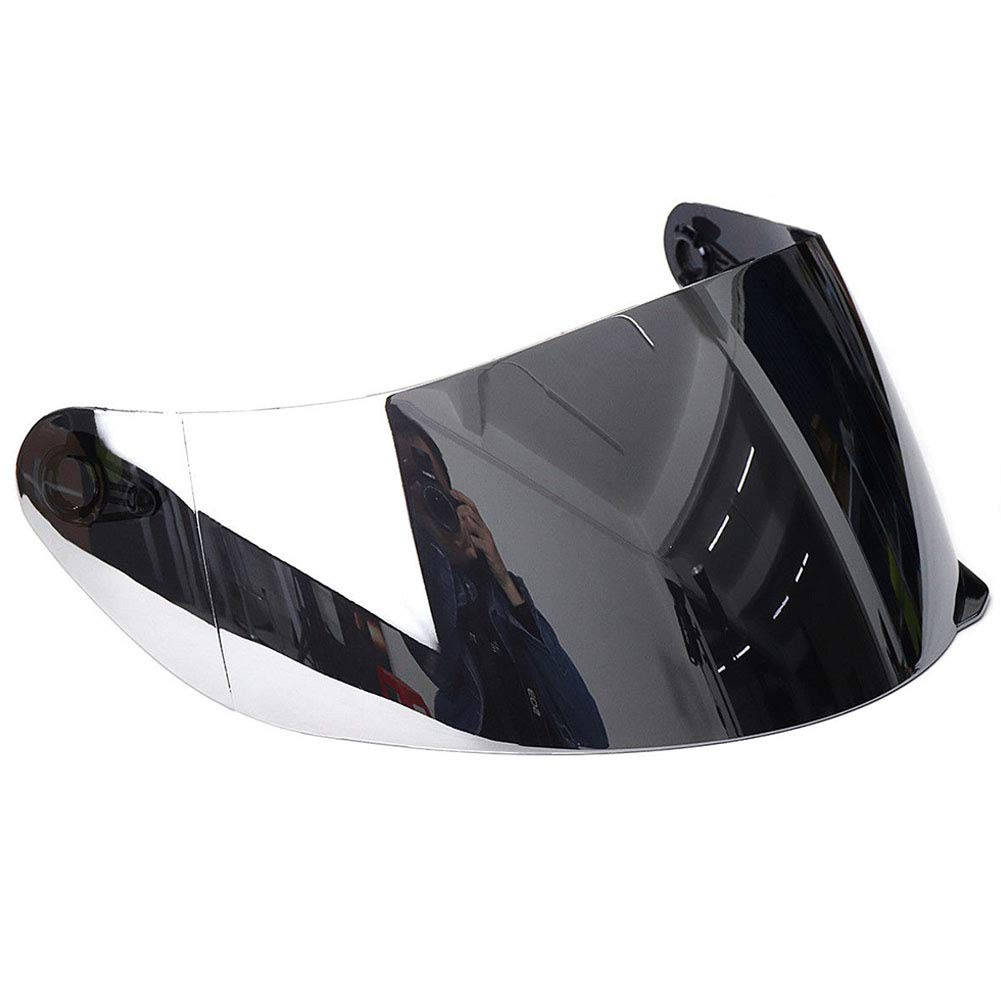 Motorcycle Helmet Visor, Detachable UV Protected Full Face Motorcycle Helmet Shield Visor Fit for 316 902 AGV K5 K3SV (as Shown,Colored Color) yodaliy