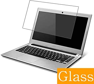 """Synvy Tempered Glass Screen Protector for ACER Aspire V5-431 / V5-431G 14"""" Visible Area 9H Protective Screen Film Protectors (Not Full Coverage)"""