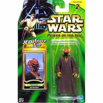 Star Wars: Power of the Jedi Plo Koon Action - Master Jedi Koon Plo