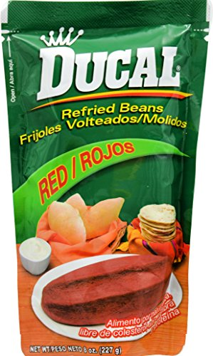 Ducal Refried Red Beans Pouch, 8 Ounce (Pack of 24) by Ducal (Image #2)