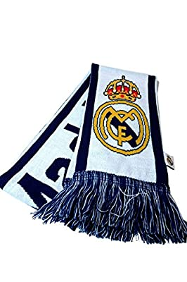 Icon Sports Real Madrid Officially Licensed Product Soccer Scarf
