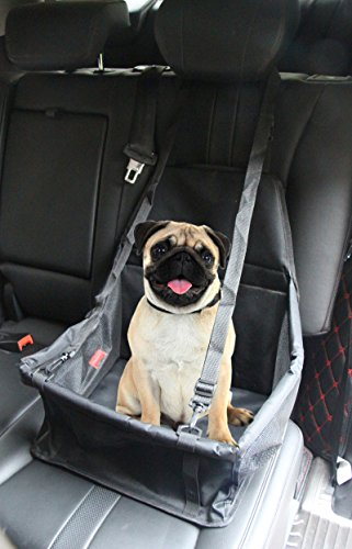 Pustor Portable Pet Dog Car Booster Seat For Small Medium Dogs Cats by PUSTOR