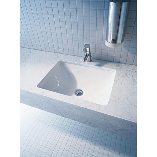 Duravit 0305490000 Starck 3 Undermount Vanity Basin, White Finish good
