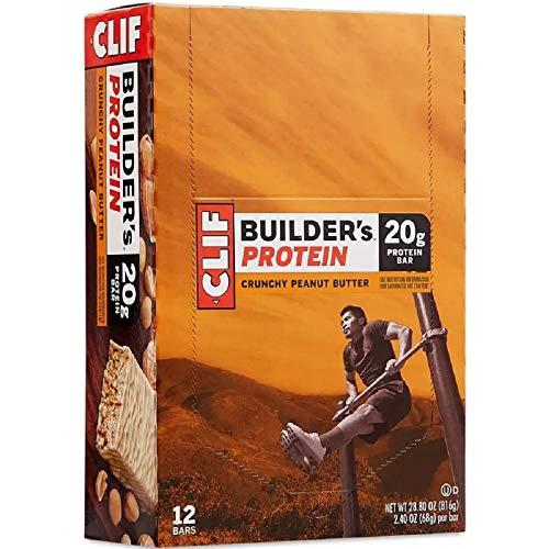 Clif Bar Crunchy Peanut Butter Energy Bars, 2.4 oz Bars 12 ea