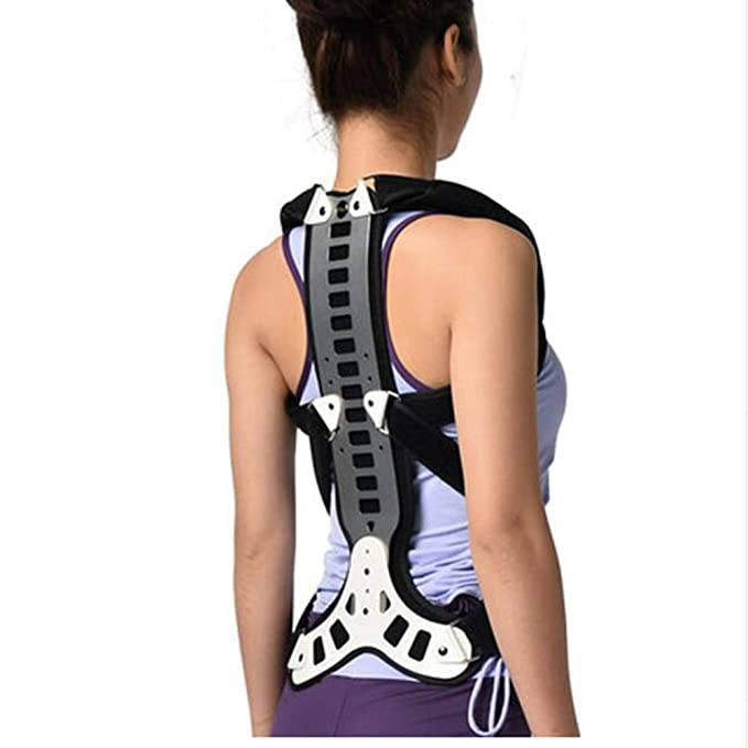 YC° Postural Extension Vest & Back Straightener Brace for Kyphosis, Mild Scoliosis, Hunchback & Lordosis Treatment,M