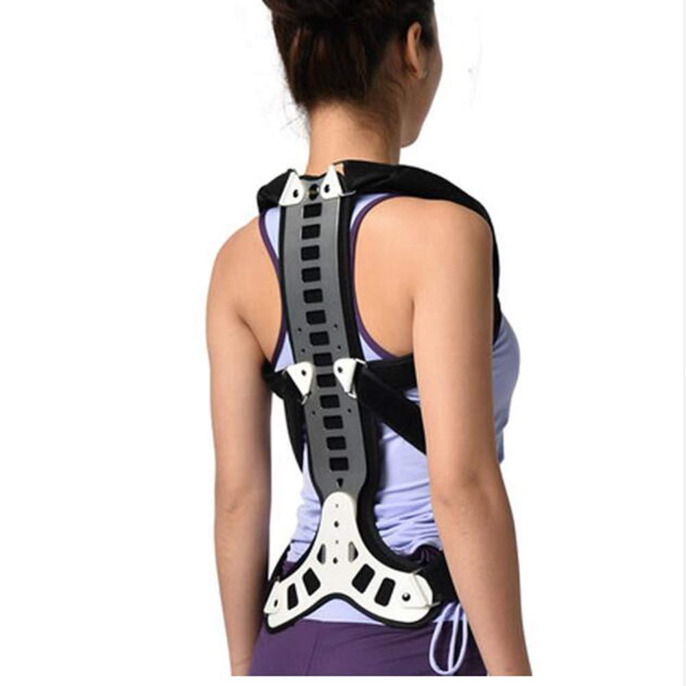 YC° Postural Extension Vest & Back Straightener Brace for Kyphosis, Mild Scoliosis, Hunchback & Lordosis Treatment,L