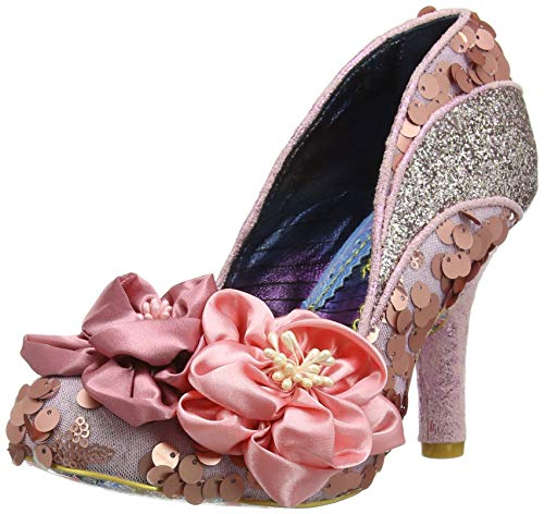 Femme Pink Irregular Choice Escarpins Melba Peach I Multi Rose aRYIzq