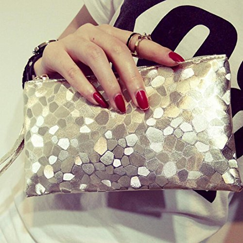Women Khaki Wallet Purse Bags Phone Key Paymenow Zero Lively Fashion Texture Clutch Stone Change Zipper Coins HwSZqBx5
